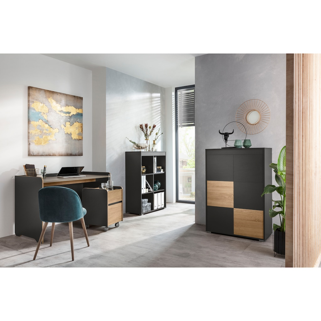 "Places of Style Aktenschrank »Ergil«, Aktenschrank ""Ergil"", 6 Türen mit Push-to-open-Funktion"