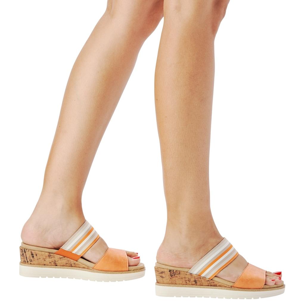 Remonte Pantolette, mit Wechselfußbett