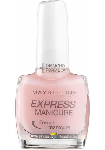 "MAYBELLINE NEW YORK Nagellack ""Express Manicure French"" kaufen"