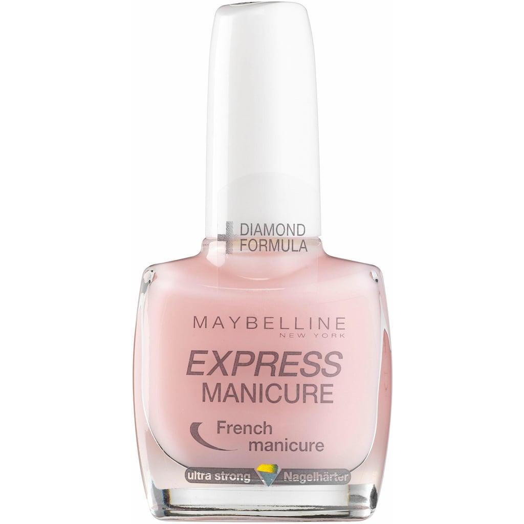 MAYBELLINE NEW YORK Nagellack »Express Manicure French«