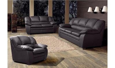 COTTA Polstergarnitur, (Set, 3 tlg.), Garnitur: Sessel, 2-Sitzer, 2,5-Sitzer kaufen