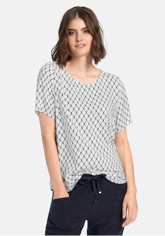 Peter Hahn Blusenshirt »zum Schlupfen«, mit Allover-Muster kaufen