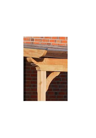 SKANHOLZ Terrassendach »Ravenna«, inkl. Wandanschlussprofil und Aufschraubstütze kaufen