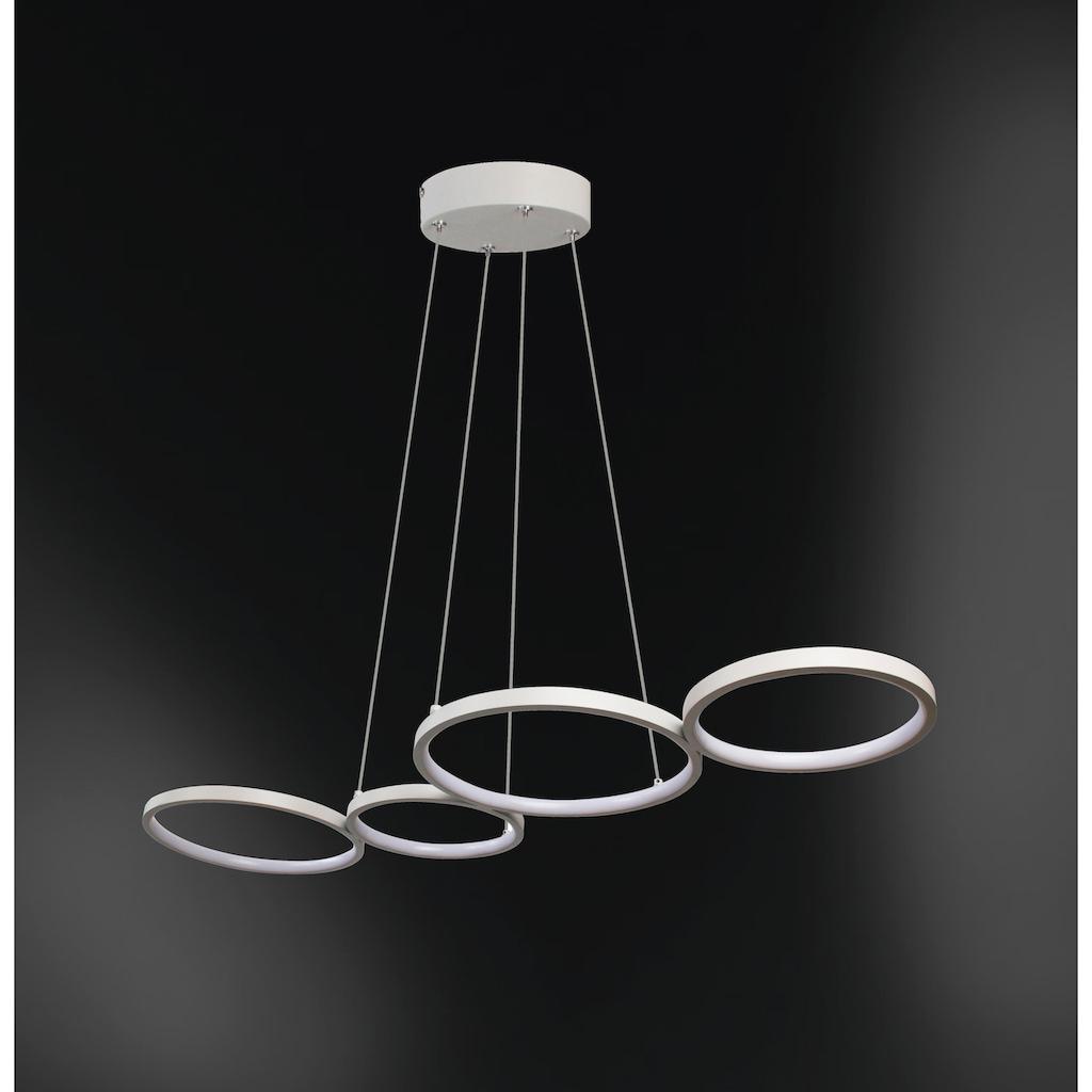 WOFI Pendelleuchte »VIKA«, LED-Board, Warmweiß, Hängeleuchte, Hängelampe