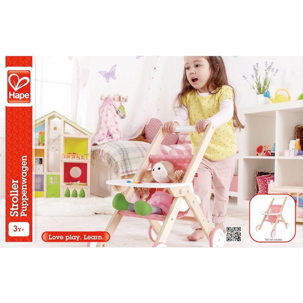 Hape Puppenwagen, aus Holz