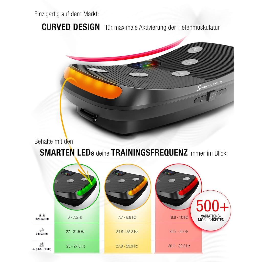 Sportstech Vibrationsplatte »VP400«, 480 W, max. 400 W + max. 80 W