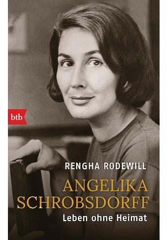 Buch »Angelika Schrobsdorff / Rengha Rodewill« kaufen