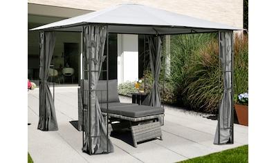 KONIFERA Pavillon »Kreta«, BxT: 300x300 cm, Stahlgestell kaufen