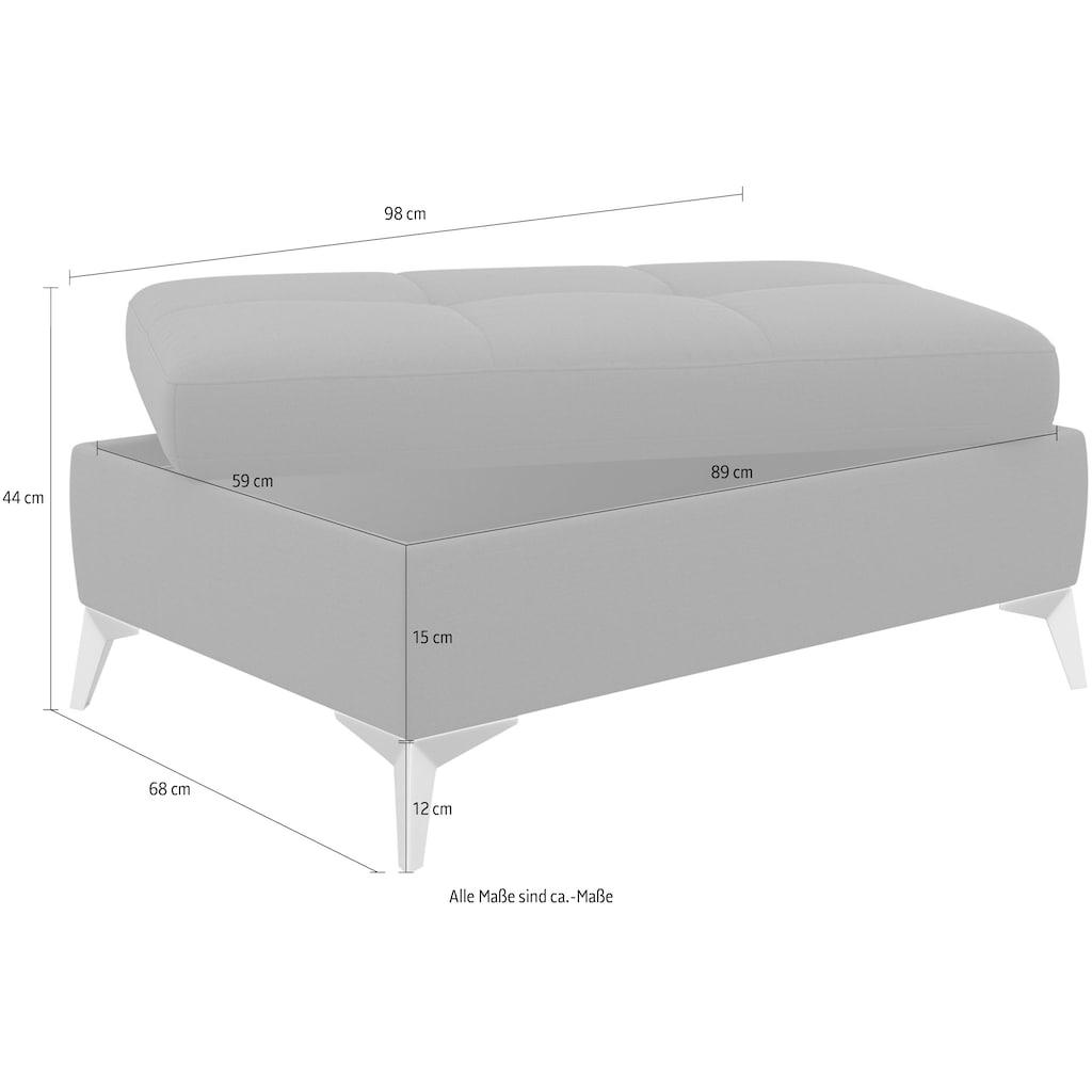 sit&more Stauraumhocker, inklusive Stauraum
