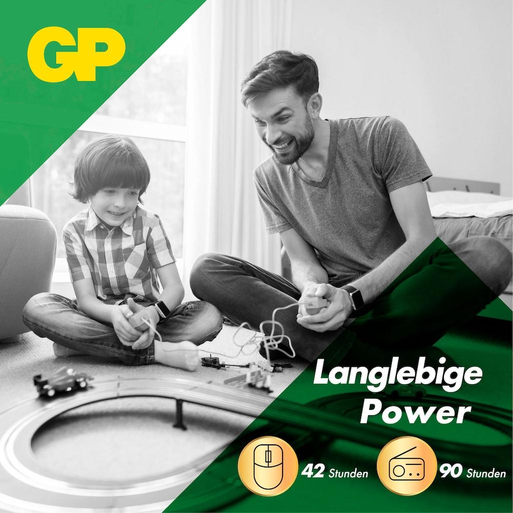 GP Batteries Batterie »Super Alkaline 1,5V AAA (12 St) +AA Batterie (32 St)«, 1,5 V, (Set)