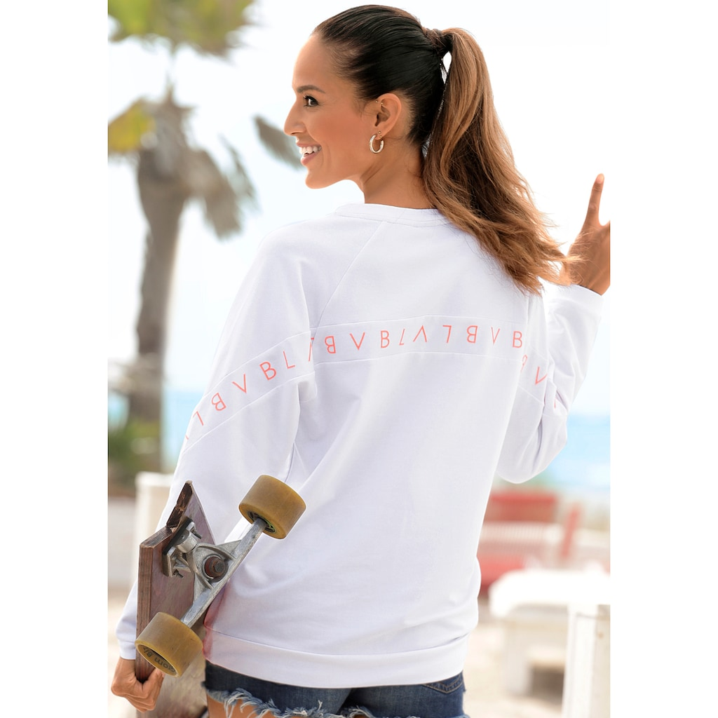 Venice Beach Sweatshirt, mit Logoprint