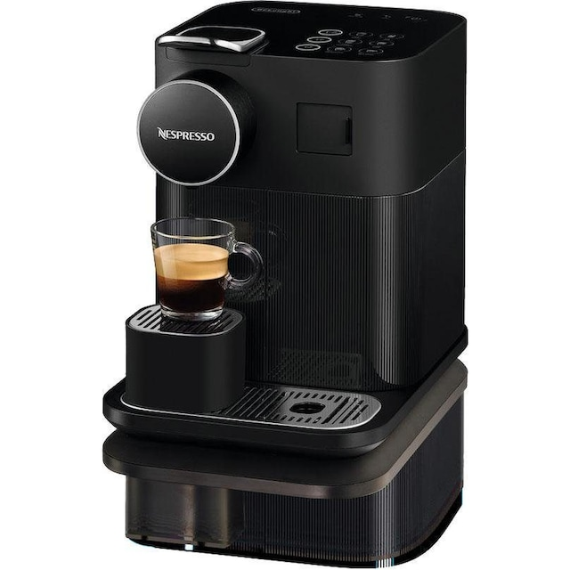 Nespresso Kapselmaschine Distinta Moments, Gran Lattissima EN 650.B – Sunset Black
