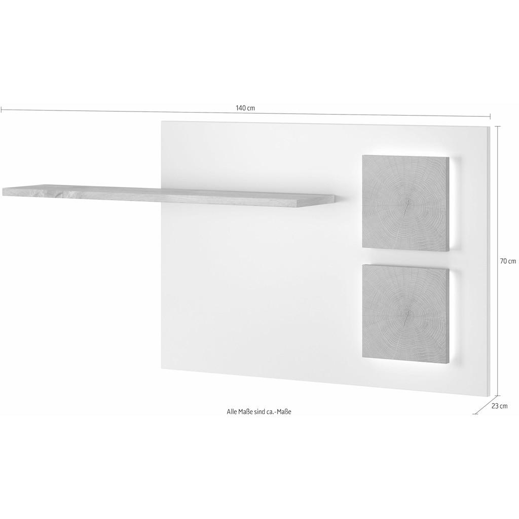 LED Aufbaustrahler, für Wandpaneel (2er Set)