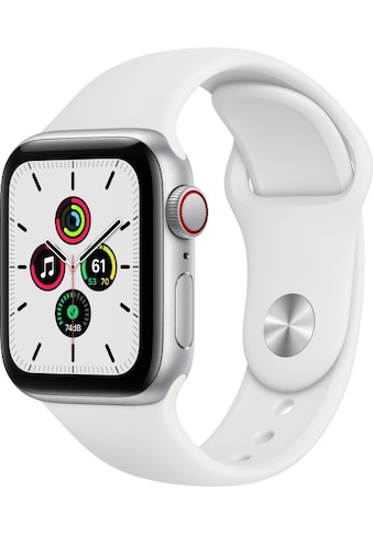 Apple Smartwatch »Series SE (2021), GPS + Cellular, Aluminium-Gehäuse, 40 mm mit... kaufen