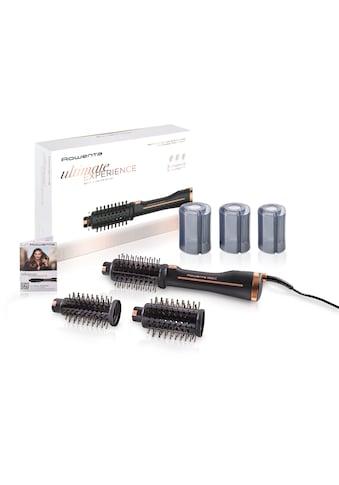 Rowenta Warmluftbürste »CF9620 Brush Activ Ultimate Experience«, 3 Aufsätze}, Style... kaufen