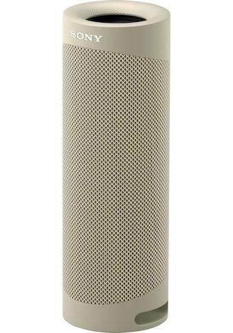 Sony Bluetooth-Lautsprecher »SRS-XB23 tragbarer, kabelloser«, 12h Akkulaufzeit,... kaufen