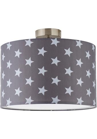 Lüttenhütt Deckenleuchte »Steern«, E27, Deckenlampe mit Sterne - Stoffschirm Ø 40 cm,... kaufen