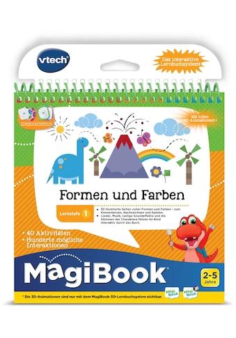 Vtech® Buch »MagiBook Lernstufe 1 - Farben und Formen« kaufen