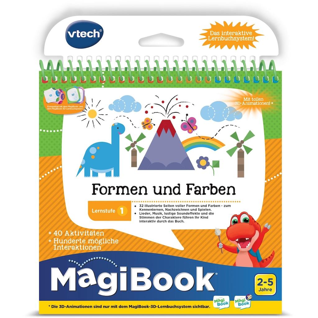 Vtech® Buch »MagiBook Lernstufe 1 - Farben und Formen«