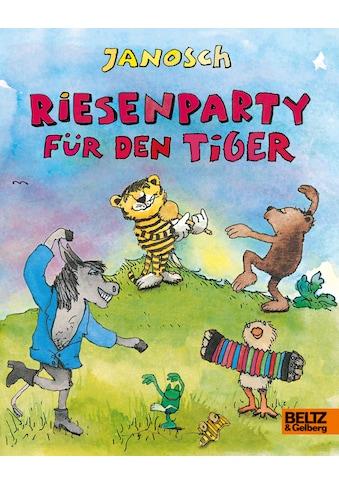 Buch »Riesenparty für den Tiger / Janosch, Janosch, Janosch« kaufen