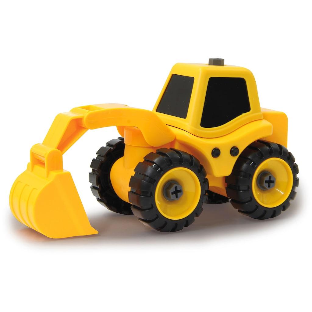 Jamara Spielzeug-Traktor »Baufahrzeuge 9 in 1«