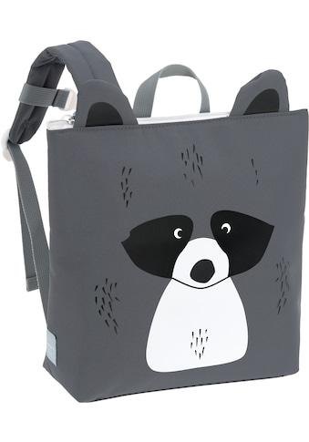 LÄSSIG Kinderrucksack »About Friends, Racoon«, mit Isolierfach; PETA-approved vegan kaufen