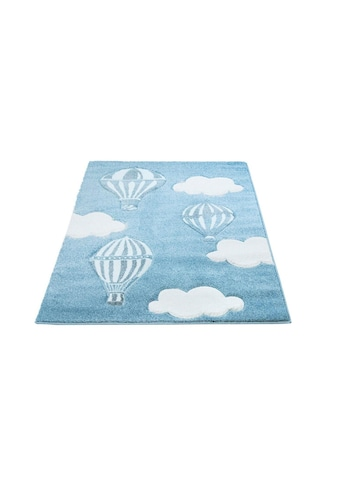 Carpet City Kinderteppich »Bueno Kids 1456«, rechteckig, 13 mm Höhe, Heißluftballon,... kaufen