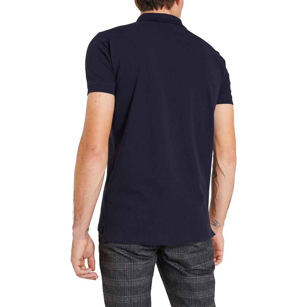 Esprit Poloshirt, mit Logostickerei