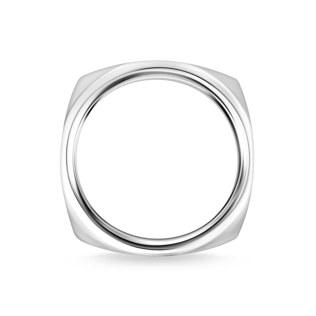 THOMAS SABO Silberring »Eckig Silber, TR2279-001-21-52, 54, 56, 58, 60, 62, 64, 66, 68«