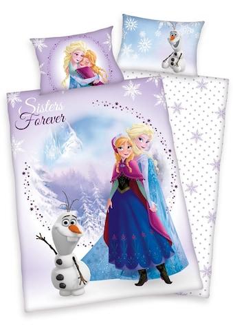 Kinderbettwäsche »Frozen Sisters«, Disney kaufen