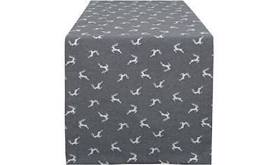 HOSSNER - HOMECOLLECTION Tischläufer »Sprunghirsch«, (1 St.) kaufen