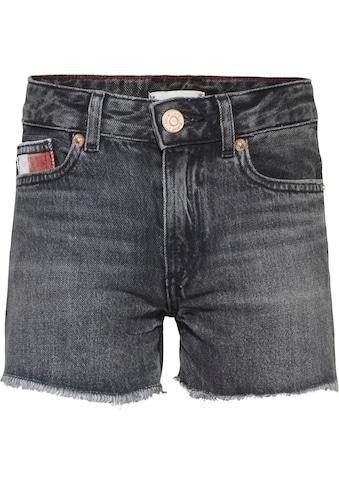 Tommy Hilfiger Jeansshorts »HARPER SHORT«, mit Fransensaum kaufen
