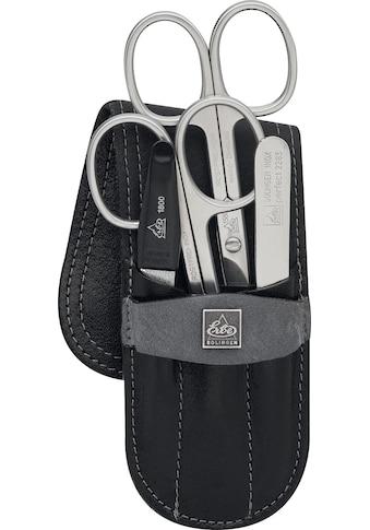 ERBE Maniküre-Etui »Taschenetui aus echtem Schieferstein und Leder«, bestückt mit... kaufen