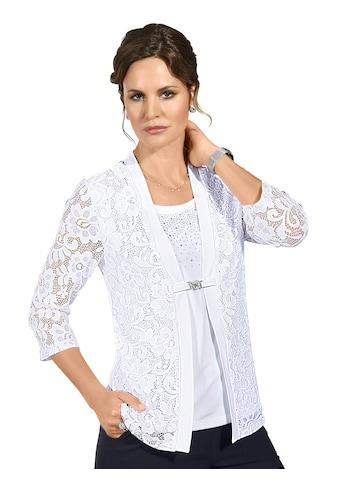 Lady Shirt im eleganten 2 - in - 1 - Stil kaufen