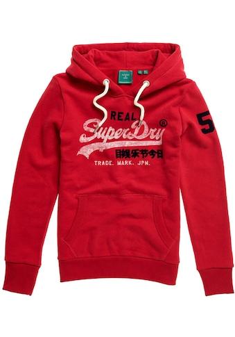 Superdry Kapuzensweatshirt »VL VARSITY HOOD« kaufen