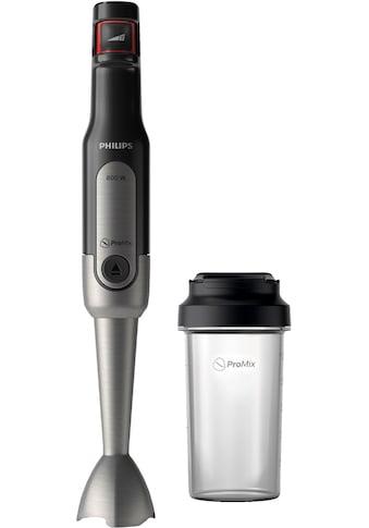 Philips Stabmixer HR2650/90 Viva, SpeedTouch, inkl. 2 - in - 1 Togo Trinkflasche & Mixbecher, 800 Watt kaufen