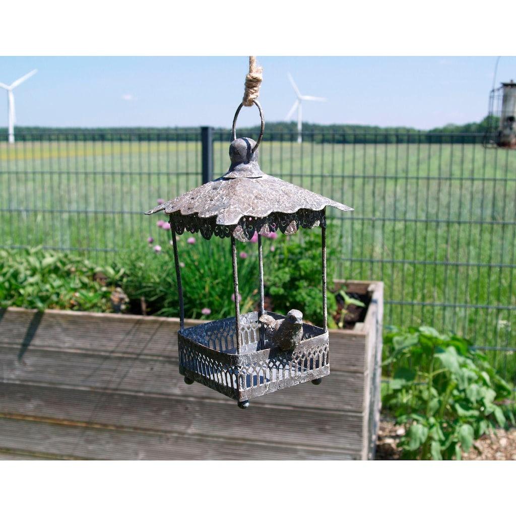 Ambiente Haus Voliere, zum hängen aus Metall - eckig Outdoor geeignet
