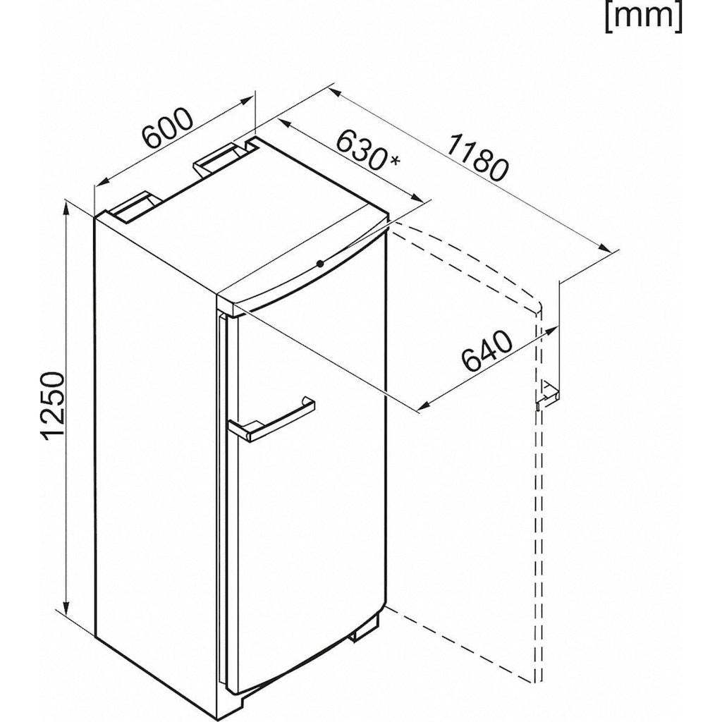 Miele Gefrierschrank »FN 22062«, 125 cm hoch, 60 cm breit