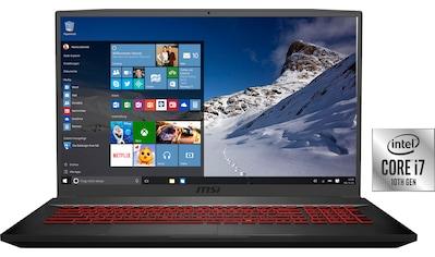 MSI GF75 10SDR - 234 Thin Notebook (43,9 cm / 17,3 Zoll, Intel,Core i7, 1000 GB HDD, 256 GB SSD) kaufen