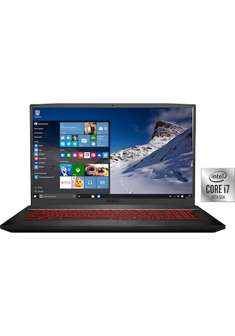 MSI GF75 10SDR - 234 Thin Gaming - Notebook (43,9 cm / 17,3 Zoll, Intel,Core i7, 1000 GB HDD, 256 GB SSD) kaufen
