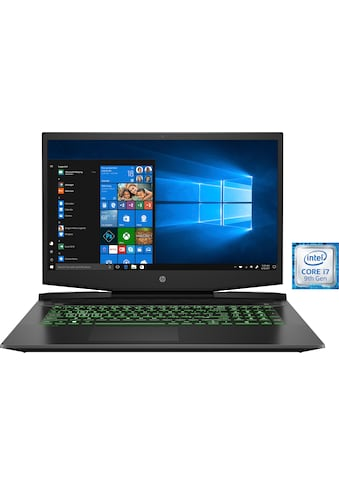 HP Pavilion 17 - cd0316ng Gaming - Notebook (43,9 cm / 17,3 Zoll, Intel,Core i7, 512 GB SSD) kaufen