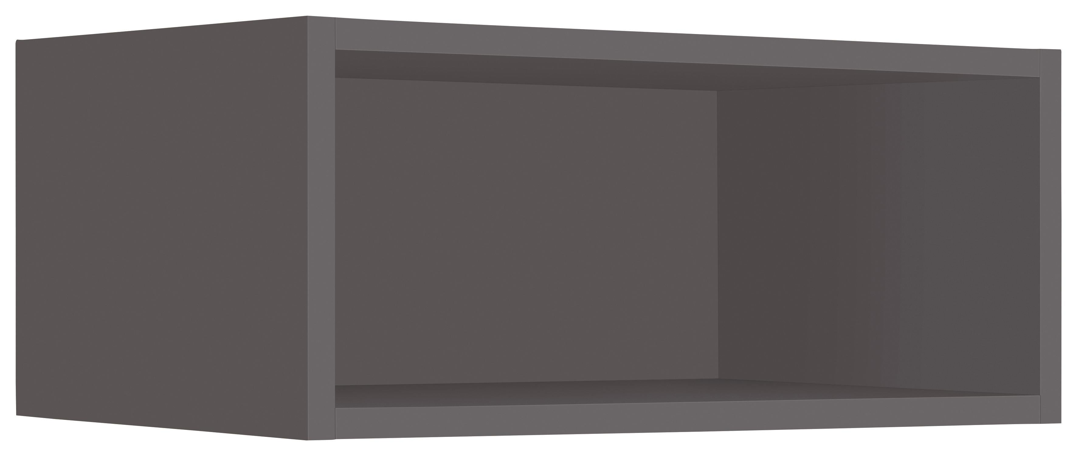 WIHO-Küchen Hängeregal Flexi2 Breite 50 cm | Küche und Esszimmer > Küchenregale > Küchen-Standregale | Grau | Melamin | Wiho Küchen