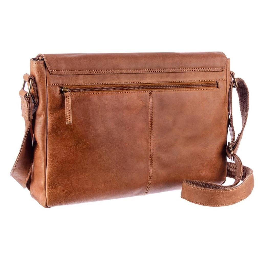 GreenLand Nature Messenger Bag, mit RFID-Technologie