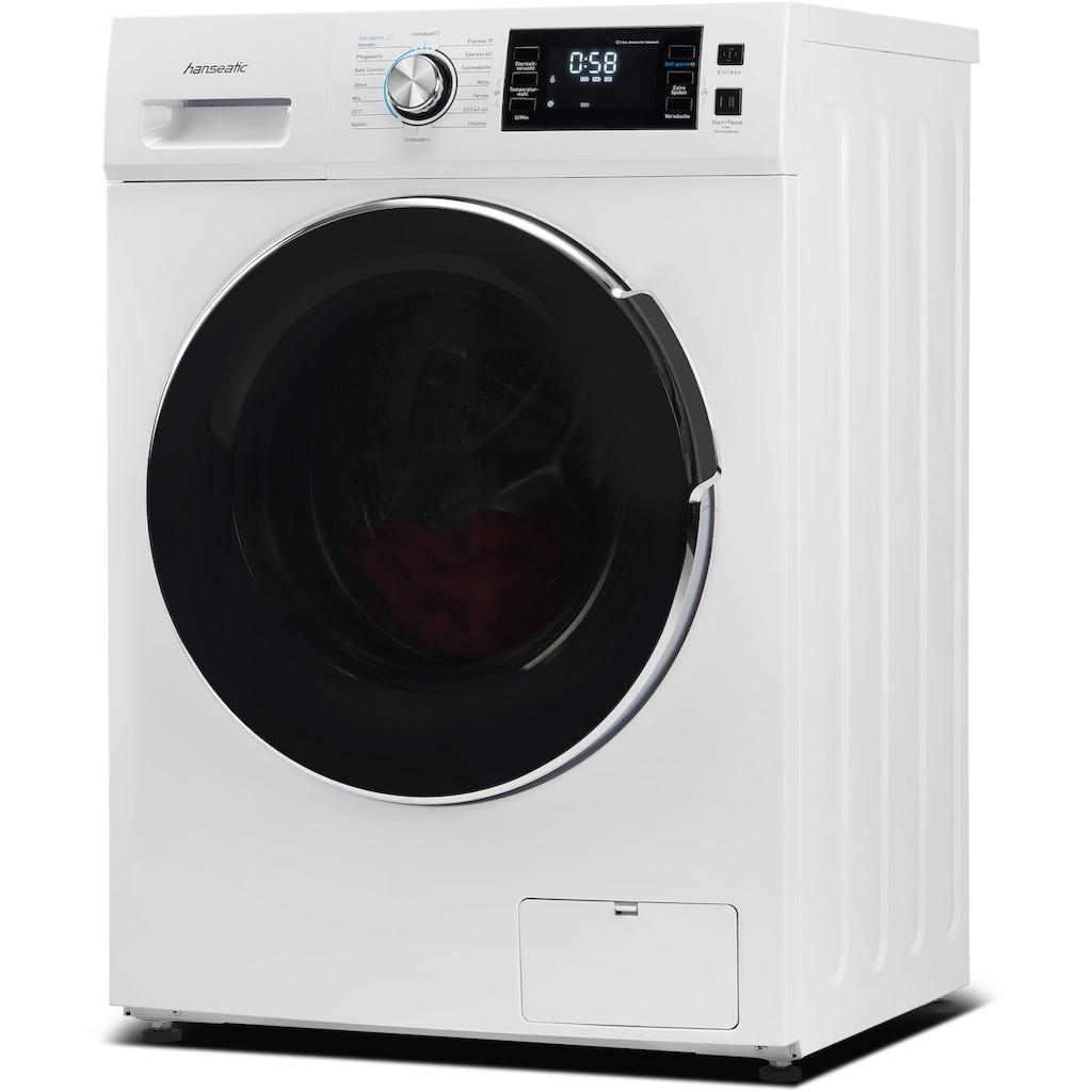 Hanseatic Waschmaschine »HWMB714B«, HWMB714B, 7 kg, 1400 U/min