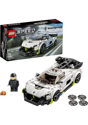 LEGO® Konstruktionsspielsteine »Koenigsegg Jesko (76900), LEGO® Speed Champions«, (280... kaufen