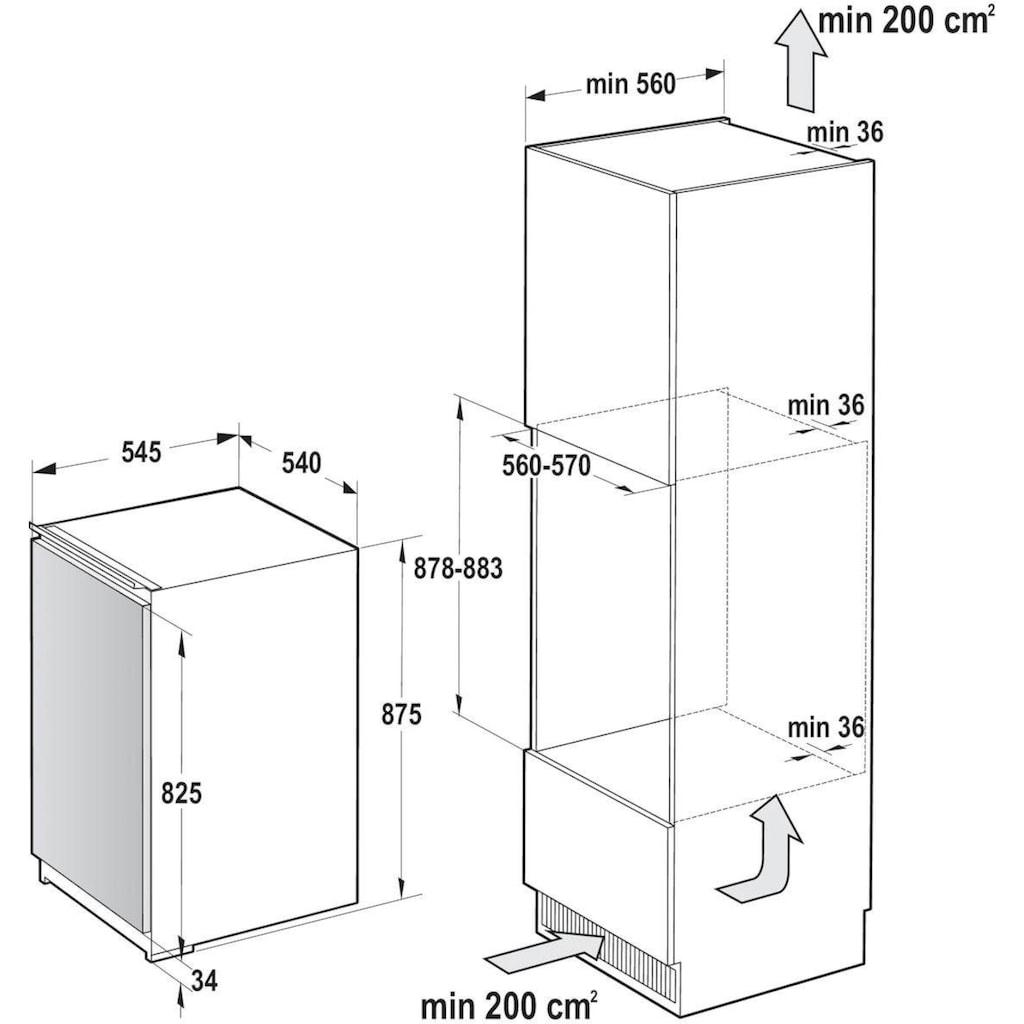 GORENJE Einbaugefrierschrank »FI4091E1«