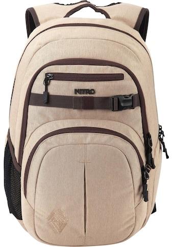 NITRO Schulrucksack »Chase, Almond« kaufen