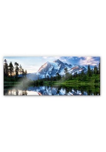 Wall-Art Küchenrückwand »Spritzschutz Natur Berge Wilderness« kaufen