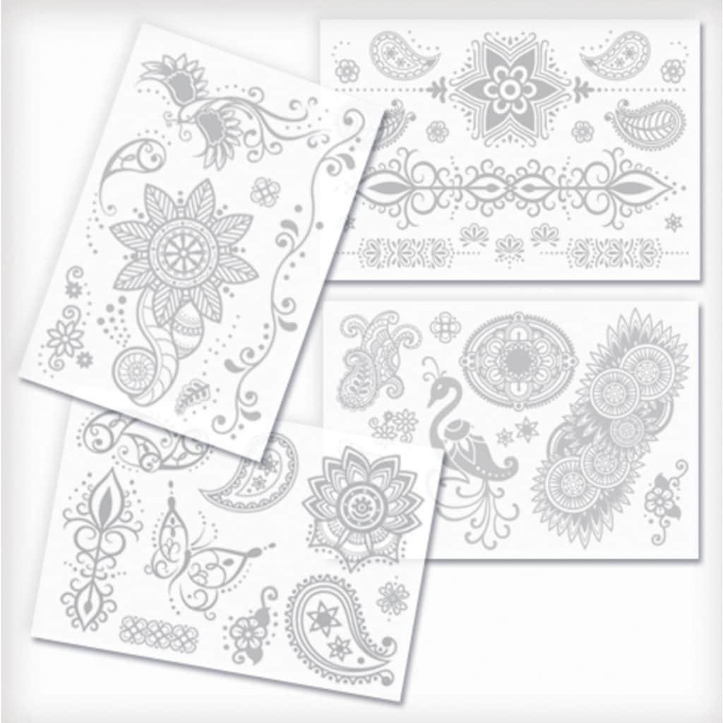 Knorrtoys® Kreativset »GLITZA FASHION Deluxe Set Oriental«, (Set), Verpackung in Buchform