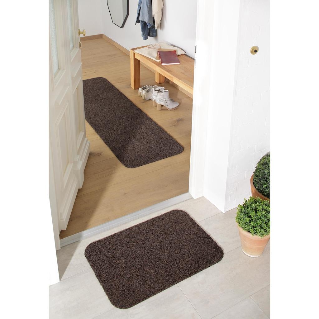 Home affaire Läufer »Willa«, rechteckig, 9 mm Höhe, Schmutzfangläufer, In- und Outdoor geeignet, waschbar